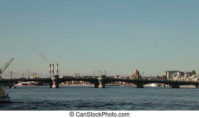 Saint Petersburg Landmarks - Neva river