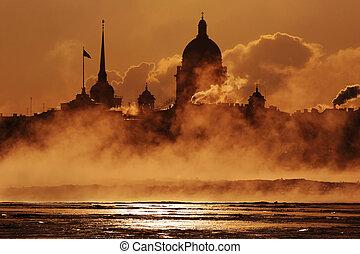 Quay of Neva - Saint-Petersburg, Quay of Neva