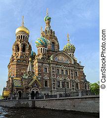 "Saint Petersburg, Russia, Orthodox Church ""Spas na Krovi"". -..."