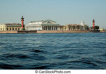 Saint-Petersburg. Vasilyevsky Island. Russia