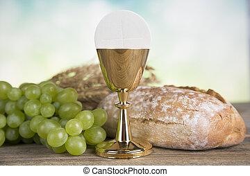 saint, premier, communion