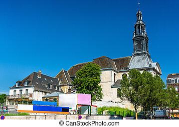 Saint Romain Church in Rouen, France