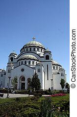 Belgrade, Serbia - Saint Sava temple in Belgrade, Serbia