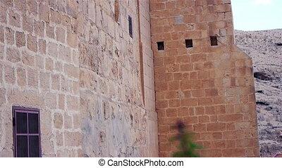 Saint Savas monastery near Jerusalem, Israel