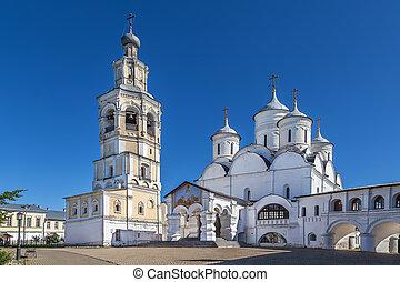 Saint Saviour Cathedral in Spaso-Prilutsky Monastery, Vologda, Russia