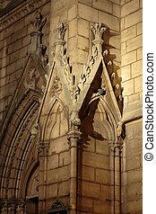 saint-severin, paris, igreja, -
