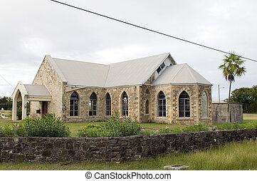 Saint Stephen's Anglican Church Antigua Caribbean island West Indies in countryside