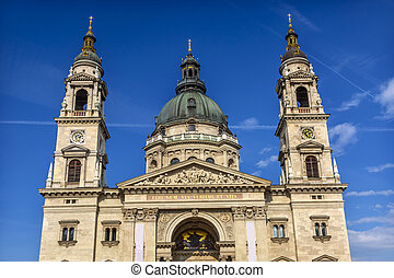 Saint Stephens Cathedral Budapest Hungary. Saint Stephens...