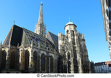 Saint Stephens Cathedral Vienna - Saint Stephens Cathedral...