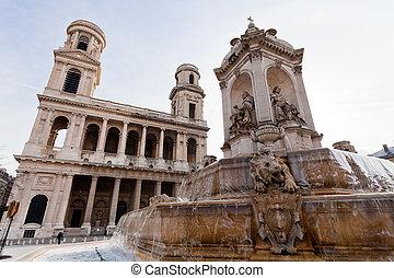 Saint-Sulpice square, Paris