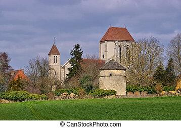 Saint Thibault church in France