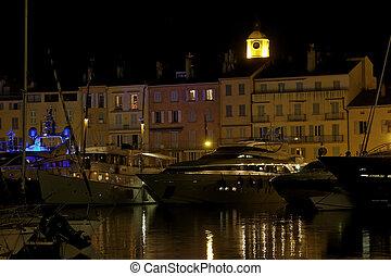 Saint Tropez, Old town, France