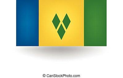 Saint Vincent And Grenadines Flag - Official Saint Vincent...