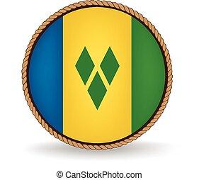 Saint Vincent And Grenadines Seal - Flag seal of Saint...