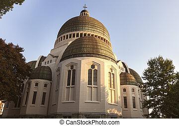 Saint Vincent Church in Liege. Liege, Wallonia, Belgium.