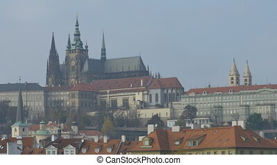 Saint Vitus Cathedral in Prague - The famous Saint Vitus...