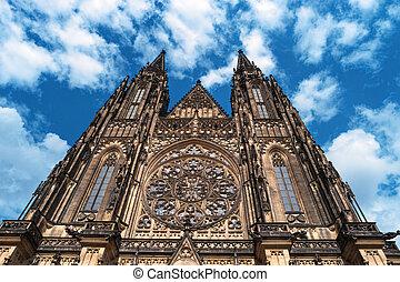 Saint Vitus Cathedral Prague Castle Czech Republic