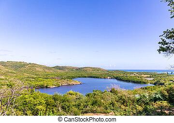 Sainte-Anne, Martinique, FWI - Cul-de-Sac Ferr? - Heart lake
