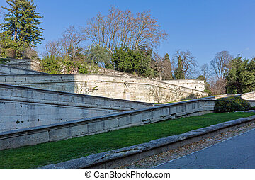 Sainte Anne Stairs to Doms Garden in Avignon France