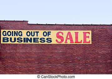 sair negócio