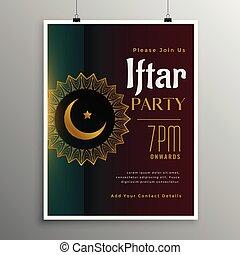 saison, célébration, ramadan, fête, iftar