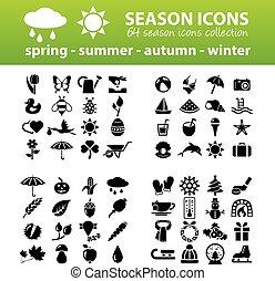 saison, icônes