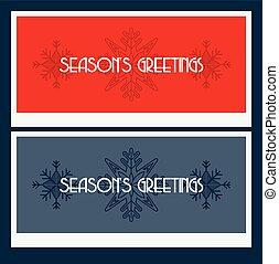saisons, salutations