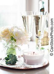 saját decor, esküvő