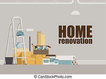 saját renovation, háttér