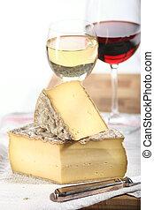 sajt, és, bor