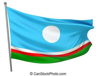 Sakha Republic National Flag