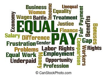 salário igual