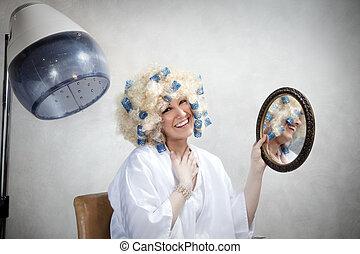 salão cabelo