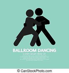 salón de baile, baile.