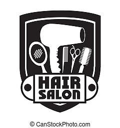 salón del pelo, diseño
