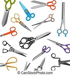 salões, alfaiates, barbeiros, moda, tesouras, beleza,...