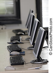 sala aula computador