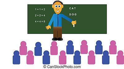 sala aula, educação