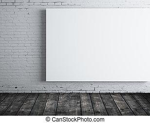 sala, cartaz