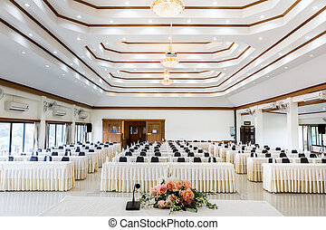sala de conferencias, empresa / negocio