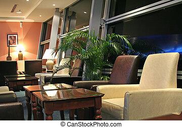 sala de estar aeroportuaria