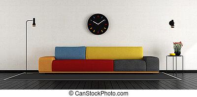 sala de estar, coloridos