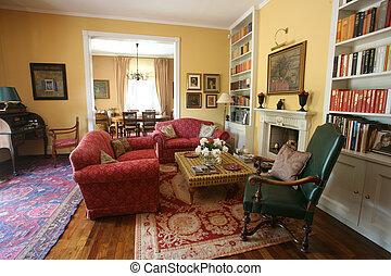 sala de estar, cosy
