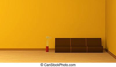 sala de estar, mínimo