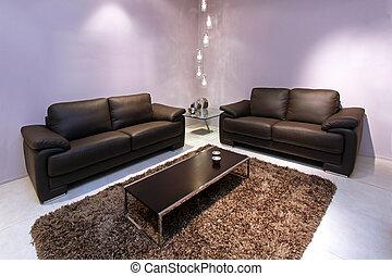sala de estar, mobília