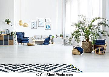 sala de estar, sofá