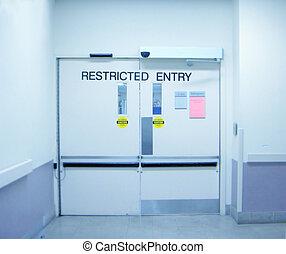 sala de operaciones, emergencia