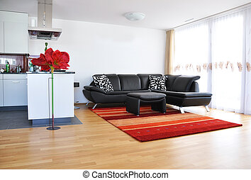 sala, vida moderna