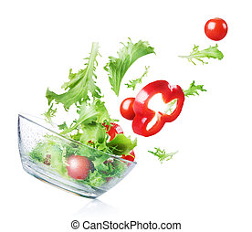 salad., λαχανικά , φρέσκος