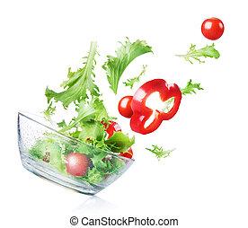 Salad. Fresh Vegetables
